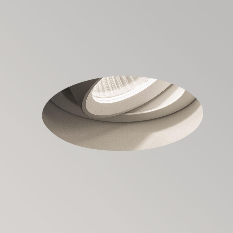 Trimless Round Adjustable LED 6,8W 528lm 2700K 37° IP20 süvisvalgusti, hämardatav, valge, liiteseadmeta