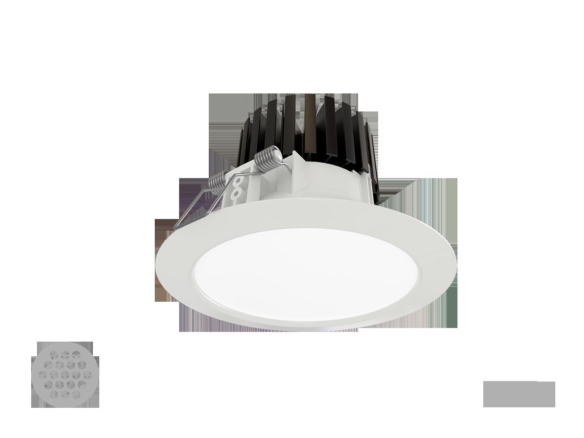 Ravo LED 16,5W 3000K 1900lm, valge, IP44