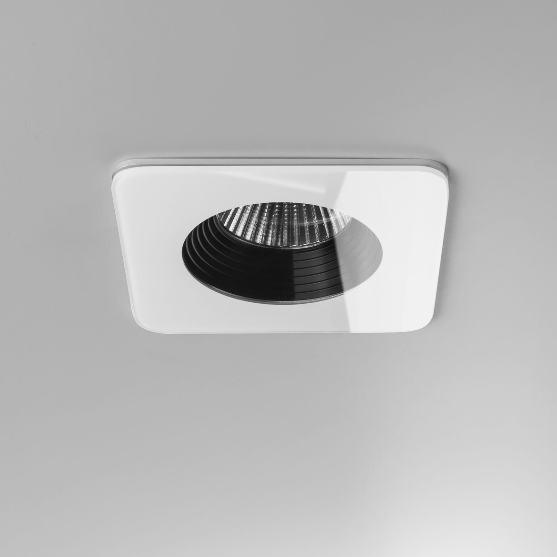Vetro Square LED 6W 629lm 3000K 18° IP65 süvisvalgusti, hämardatav, valge, liiteseadmeta