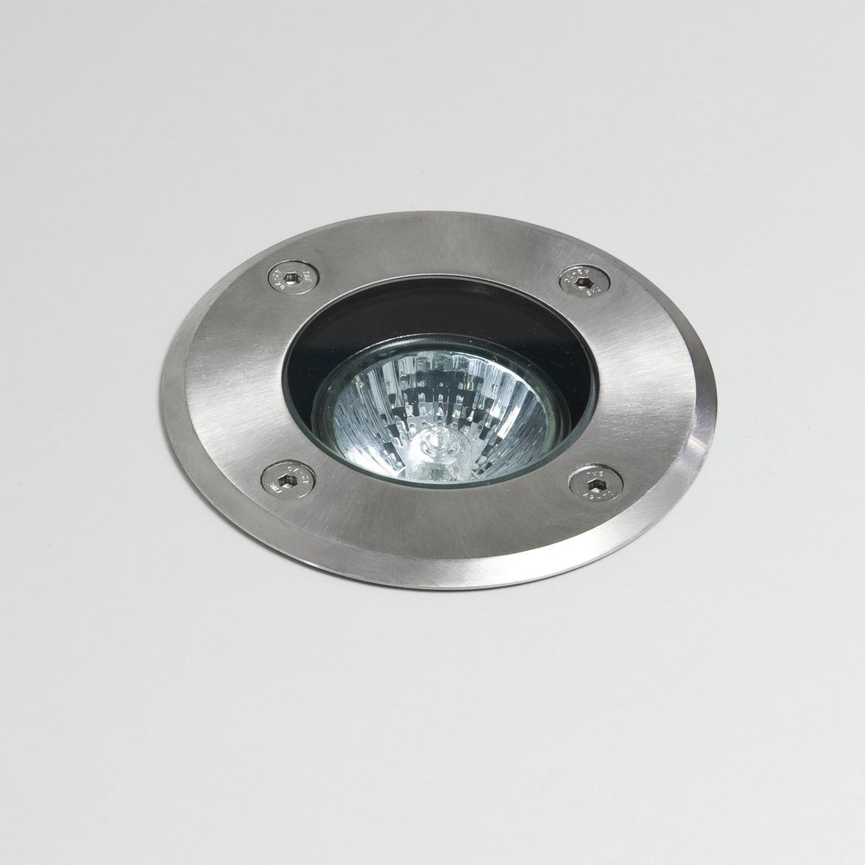 Gramos Round Max 6W GU10 LED IP65 pinnasesse süvistatav valgusti, hämardatav, harjatud roostevaba