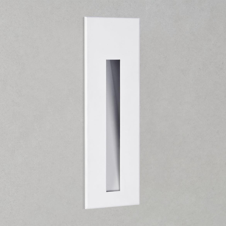 Borgo 55 LED 2W 39lm 3000K CRI90 IP20 seina süvistatav valgusti, hämardatav, matt valge, liiteseadmeta