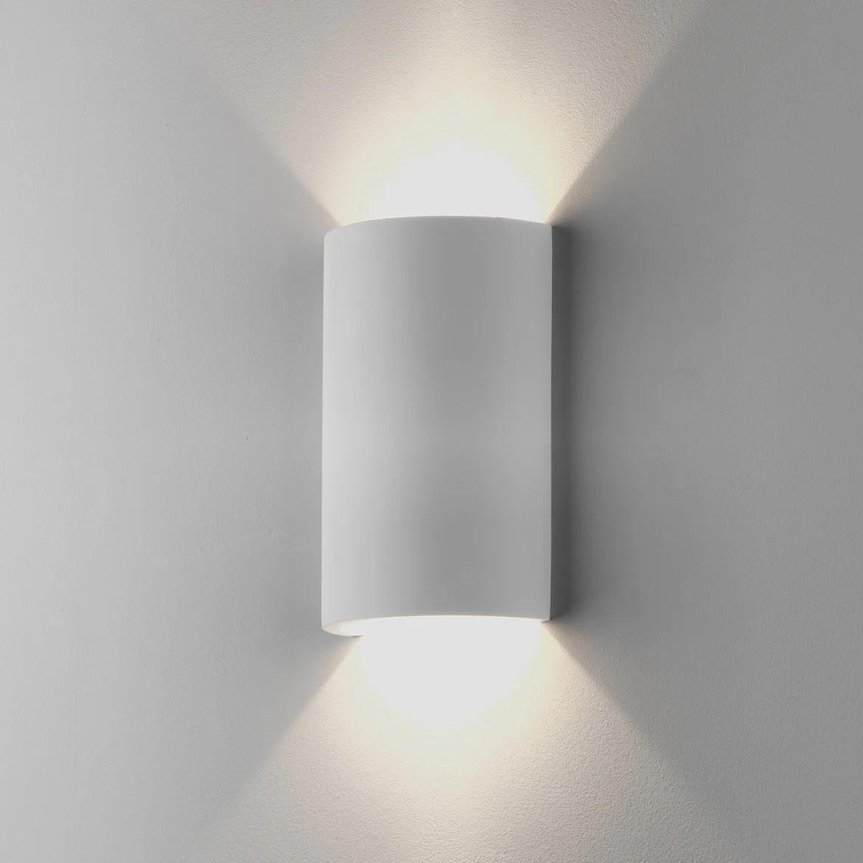 Serifos 2x Max 6W GU10 LED IP20 seinavalgusti, hämardatav, kips
