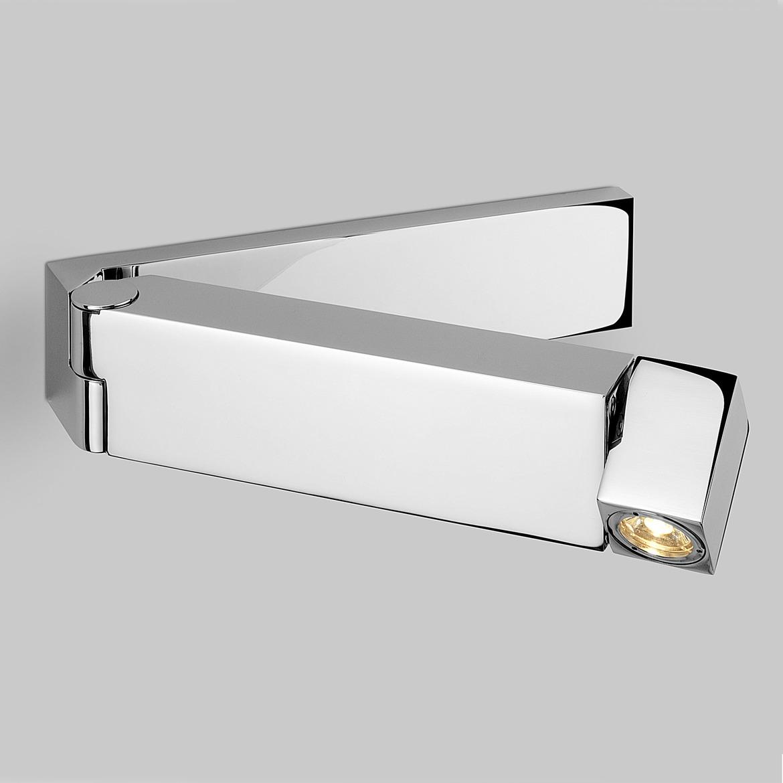Tosca LED 2,2W 61lm 2700K CRI90 IP20 seinavalgusti, lülitiga, poleeritud kroom