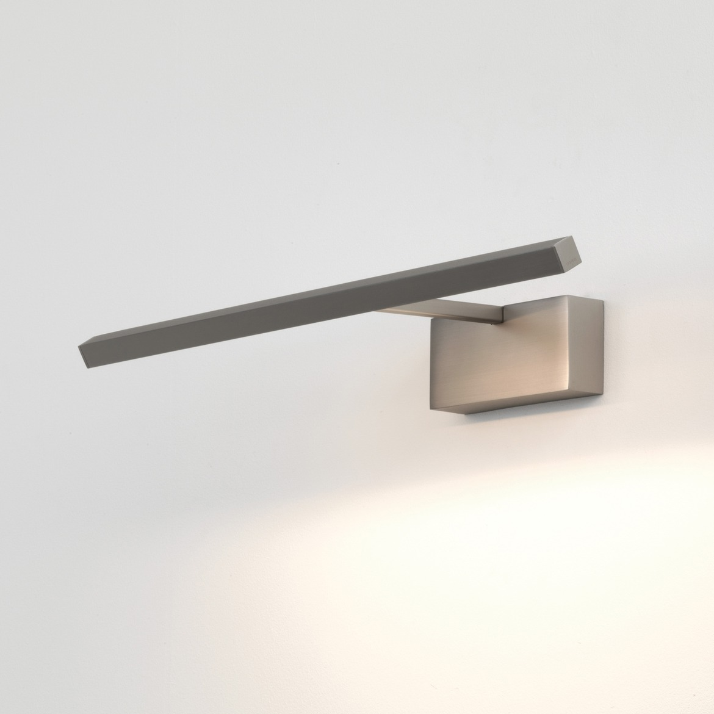 Mondrian 400 LED 6,9W 161lm 2700K IP20 pildivalgusti, matt nikkel