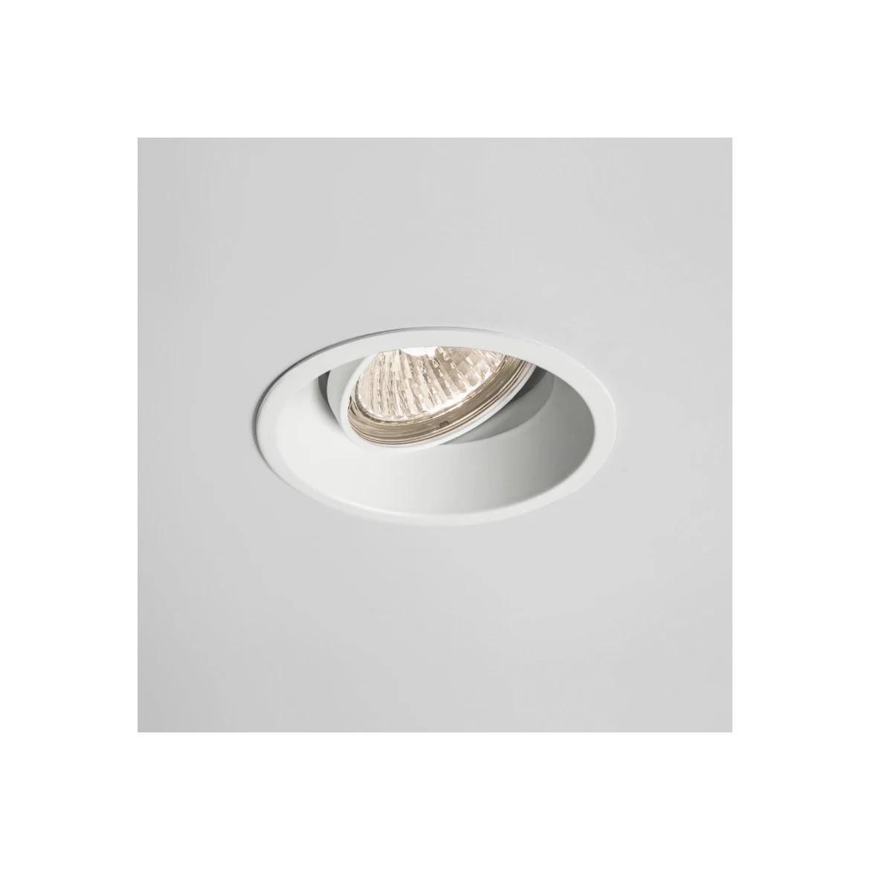 Minima Round Adjustable Max 50W GU10 IP20 süvisvalgusti, matt valge