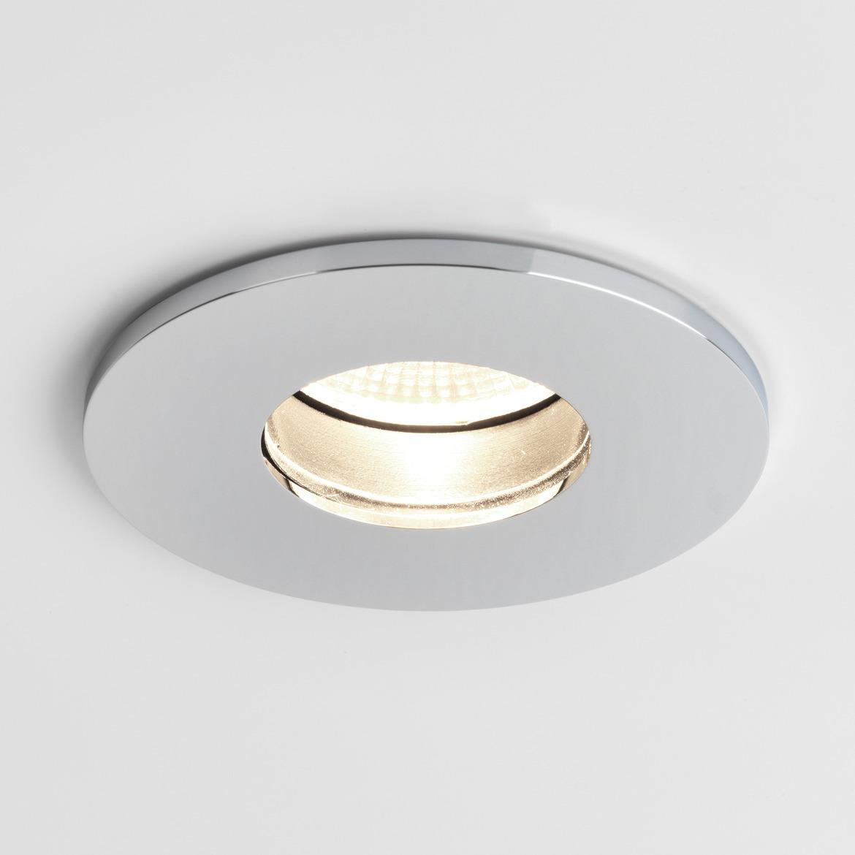 Obscura Round LED 6,1W 388lm 2700K CRI90 IP65 süvisvalgusti, hämardatav, poleeritud kroom