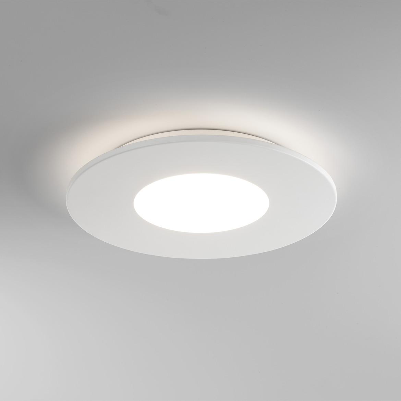 Zero Round LED 16,6W 810lm 2700K IP20 laevalgusti, matt valge