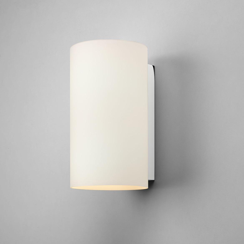 Cyl 260 2x Max 60W E27 IP20 seinavalgusti, hämardatav, poleeritud kroom, klaasist hajuti