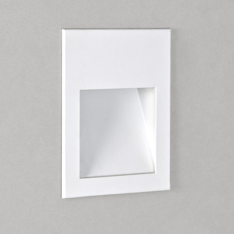 Borgo 90 LED 2W 72lm 3000K CRI90 IP20 seina süvistatav valgusti, hämardatav, matt valge, liiteseadmeta