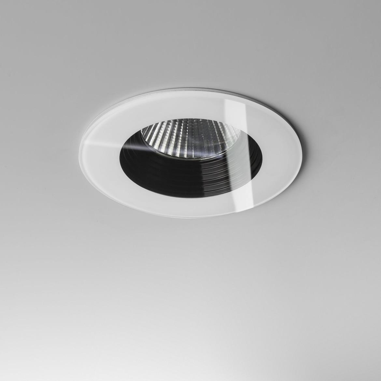 Vetro Round LED 6W 629lm 3000K 18° IP65 süvisvalgusti, hämardatav, valge, liiteseadmeta