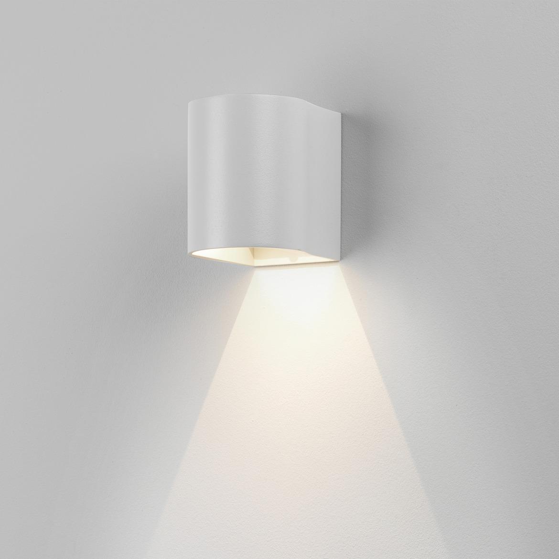Dunbar 100 LED 3,7W 64lm 3000K IP65 seinavalgusti, valge
