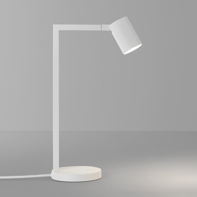 Ascoli Desk Max 6W GU10 LED IP20 lauavalgusti, lülitiga, matt valge