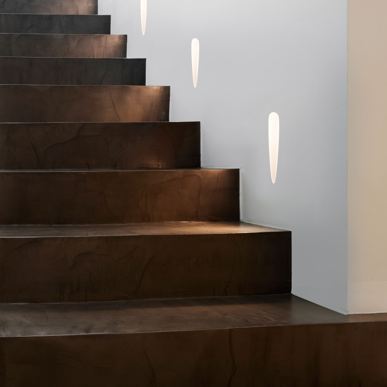 Olympus Trimless LED 1W 47lm 2700K CRI90 IP20 seina süvistatav valgusti, hämardatav, matt valge, liiteseadmeta