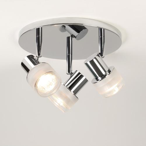 Tokai triple round 3x35W GU10 niiskuskindel vannitoavalgusti IP44, valgusallikad ei kuulu komplekti, kroom