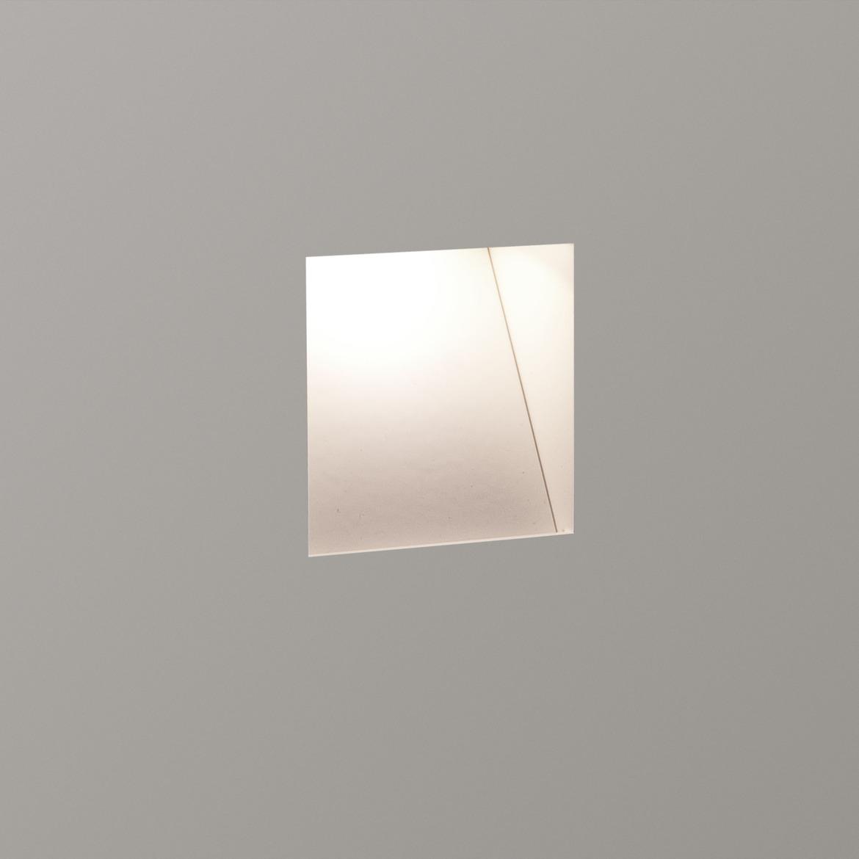 Borgo Trimless 65 LED 2W 80lm 3000K CRI90 IP20 seina süvistatav valgusti, hämardatav, matt valge, liiteseadmeta