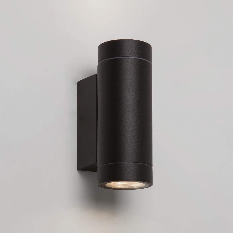 Dartmouth Twin LED 8,1W 542lm 3000K IP54 seinavalgusti, must