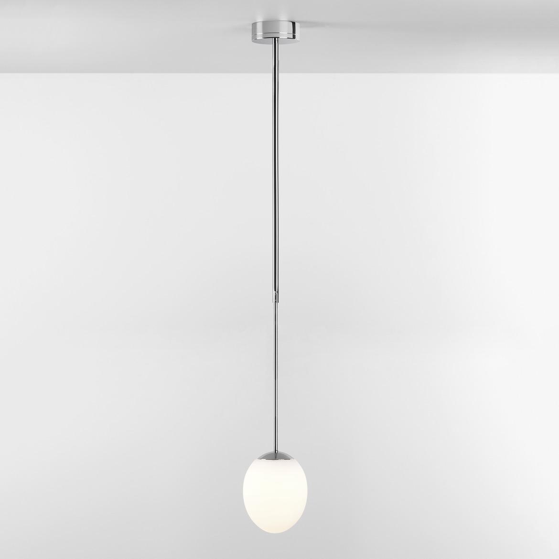 Kiwi Pendant 7,3W LED 555lm 2700K CRI>80, IP44 rippvalgusti 730-1100mm, kroom