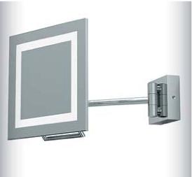 ASTRO+Niro Plus 1x9W GX53 IP44 lülitita 3xsuurendusega reguleeritav peegel. Näidis Rävala 7