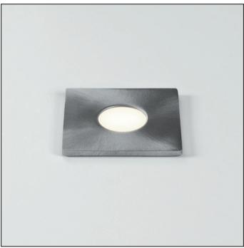 Terra 28 LED 1 x 1W Round, 350mA LED liiteseade ei ole komplektis, roostevaba, IP65