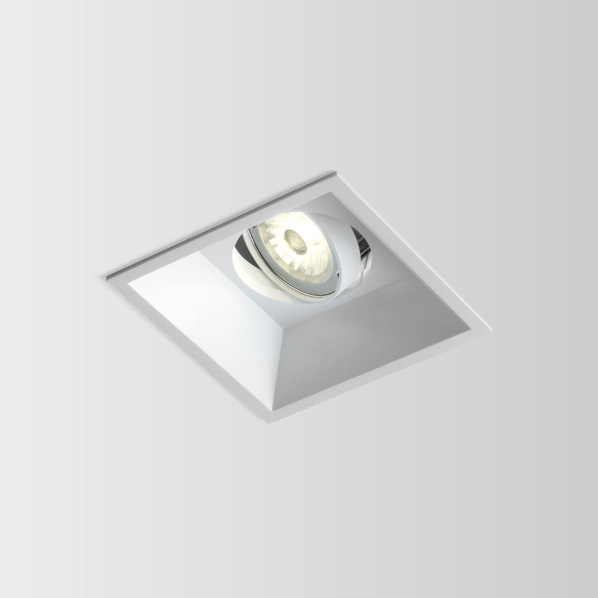 PYRAMID 1.0 LED 7/10W 2700K 90CRI 350-500mA, Valge