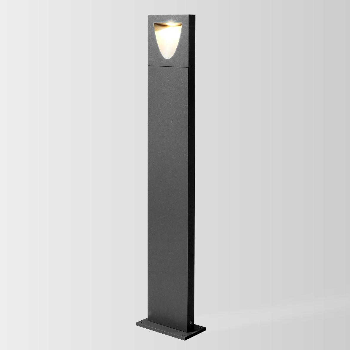 SMILE 1.0 LED 3000K DIM tumehall 8W 80 220-240VAC ilma postita, välisvalgusti pollar