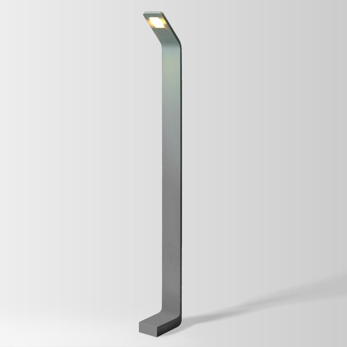 PACE 8.0 LED 3000K DIM tumehall 8W 80CRI 220-240VAC, välisvagusti pollar