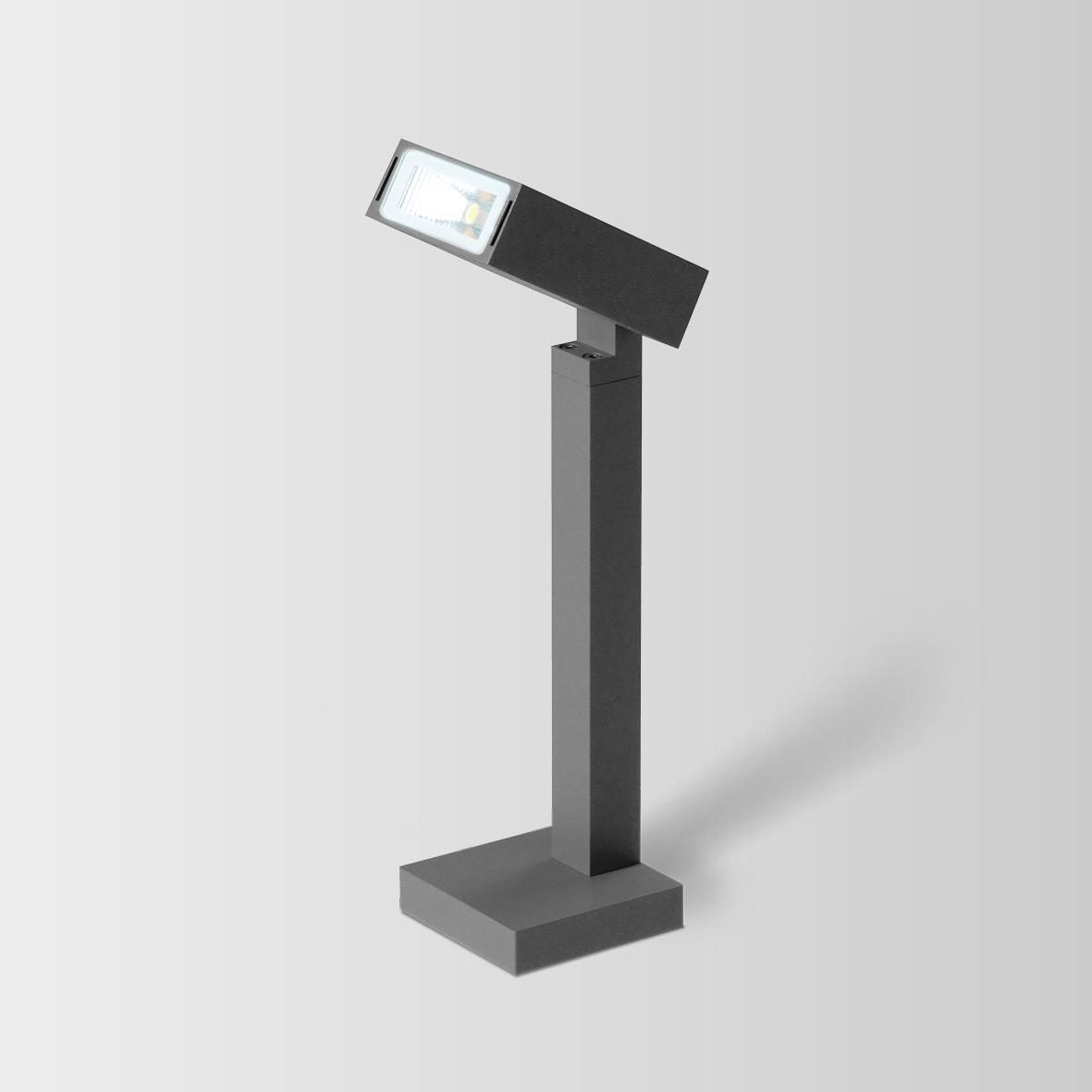 STAKE 2.0 LED 3000K DIM TUMEHALL 8W 80CRI 220-240VAC ilma postita, välisvalgusti