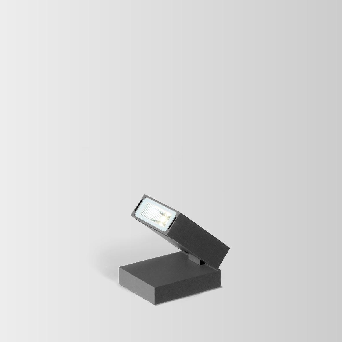 STAKE FOLD 1.0 LED 3000K DIM TUMEHALL 8W 80CRI 220-240VAC, kohtvalgusti aeda/terrassile