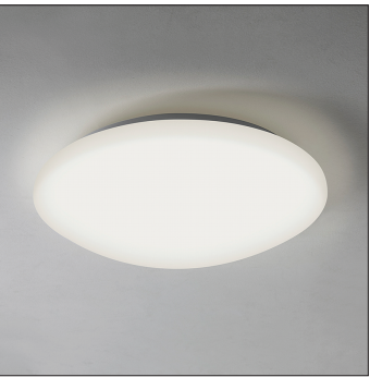 Massa 350 LED 24W 1367lm 3000K 220V IP44 lae-ja seinavalgusti, valge