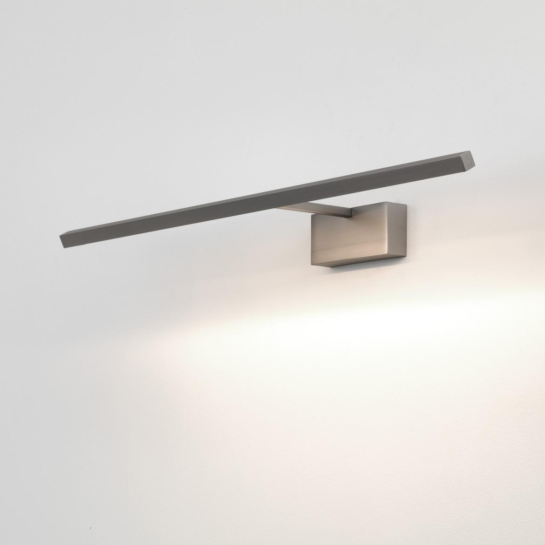 Mondrian 600 LED 10,8W 219lm 2700K IP20 pildivalgusti, matt nikkel. Casambi Relay süsteemiga ühenduv