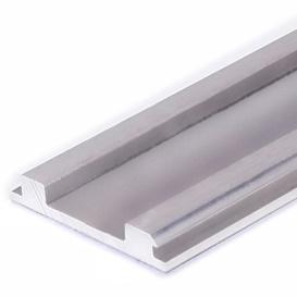 LED riba alusprofiil, painutatav, anod. alu, L=2000mm, max 12mm laiusele LED ribale