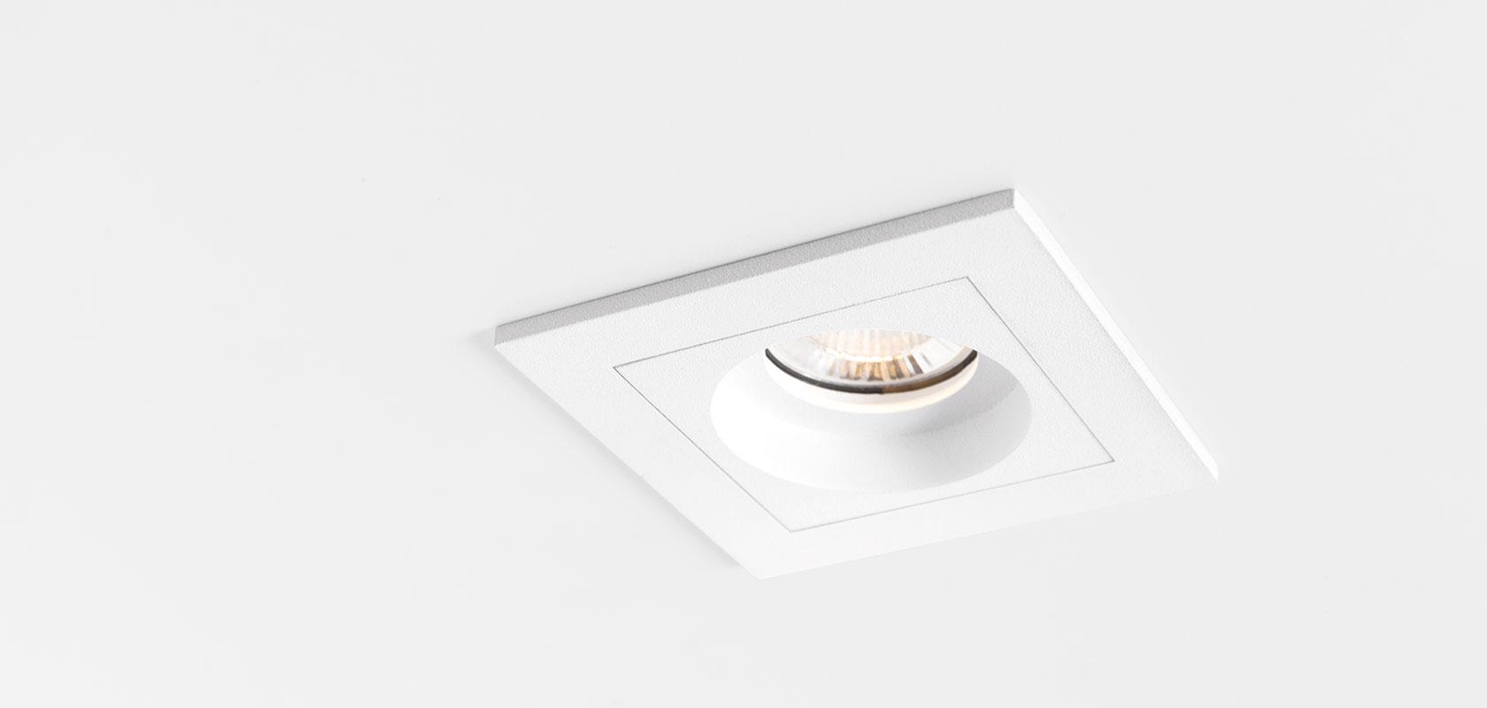 Qbini round in LED 2700K, 40°, 3/4,3W, 302/402lm, 350/500mA, CRI92, IP54, valge moodul ilma raamita