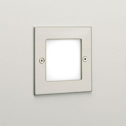 ASTRO+Kalsa LED 16 x 0,1W 230V, LED liiteseade komplektis, 3000K, roostevaba teras, välisvalgusti süvistatud seina