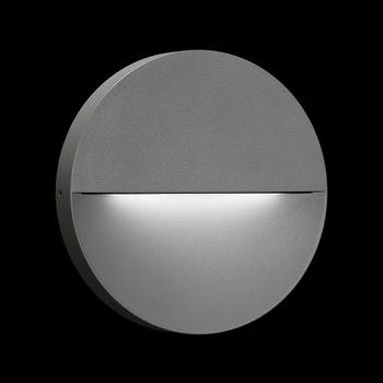 Eclipse LED 6W 416lm 3000K, 230V, seinavalgusti, antratsiit