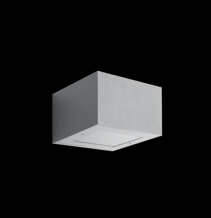Välisvalgusti Trend 110, LED 7W 308lm 3000K; aumiinium, corten; IP66 (pildil on halli värvi valgusti)