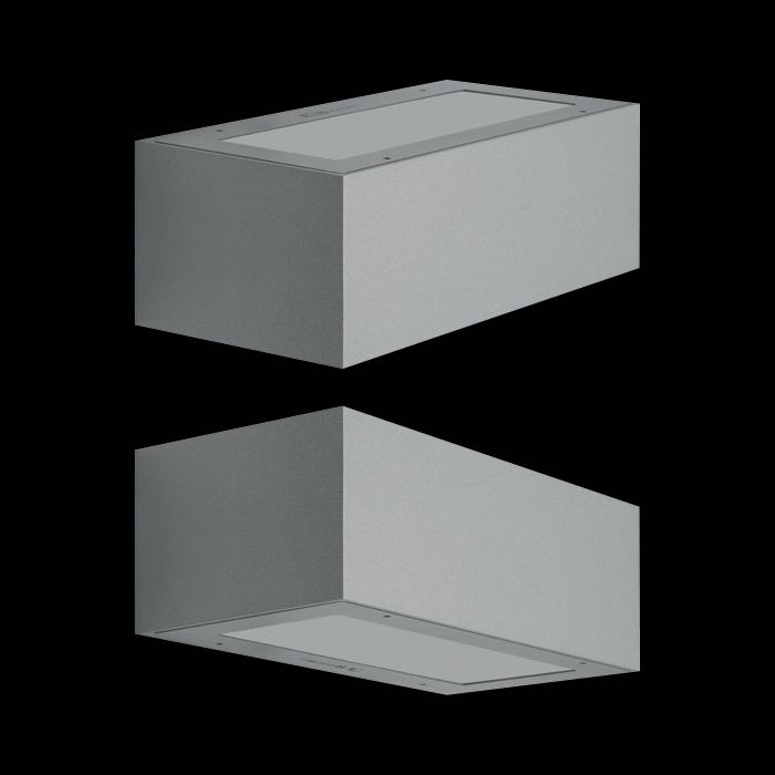 Välisvalgusti TREND UP&DOWN 220, LED 15W 1750lm 3000K; alumiinium korpus, hall; IP66 IK10