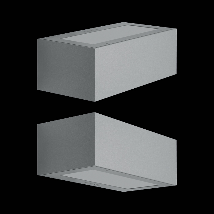 Välisvalgusti TREND UP&DOWN 220, LED 15W 1750lm 3000K; alumiinium korpus, corten; IP66 IK10