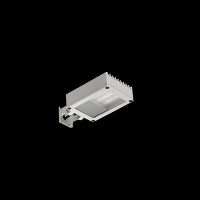 Välisvalgusti Perseo 4 LED 9W 468lm 3000K IP65 alumiinium, hall (fotol on valget värvi valgusti)