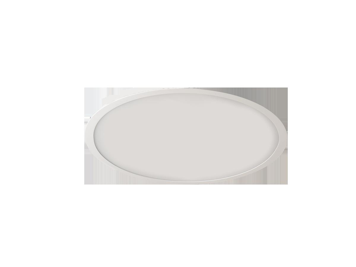 Puri LED 71,6W 7220lm 3000K süvisvalgusti opaalkattega, D 664mm, valge