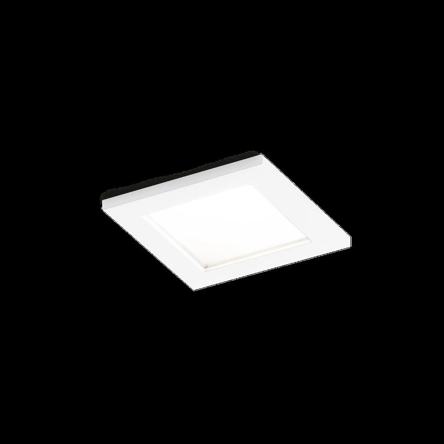 Luna Square IP44 1.0 LED 7/10W 2700K 90CRI 350-500mA, Matt kroom