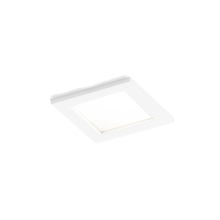 Luna Square IP44 1.0 LED 7/10W 3000K 90CRI 350-500mA, Valge