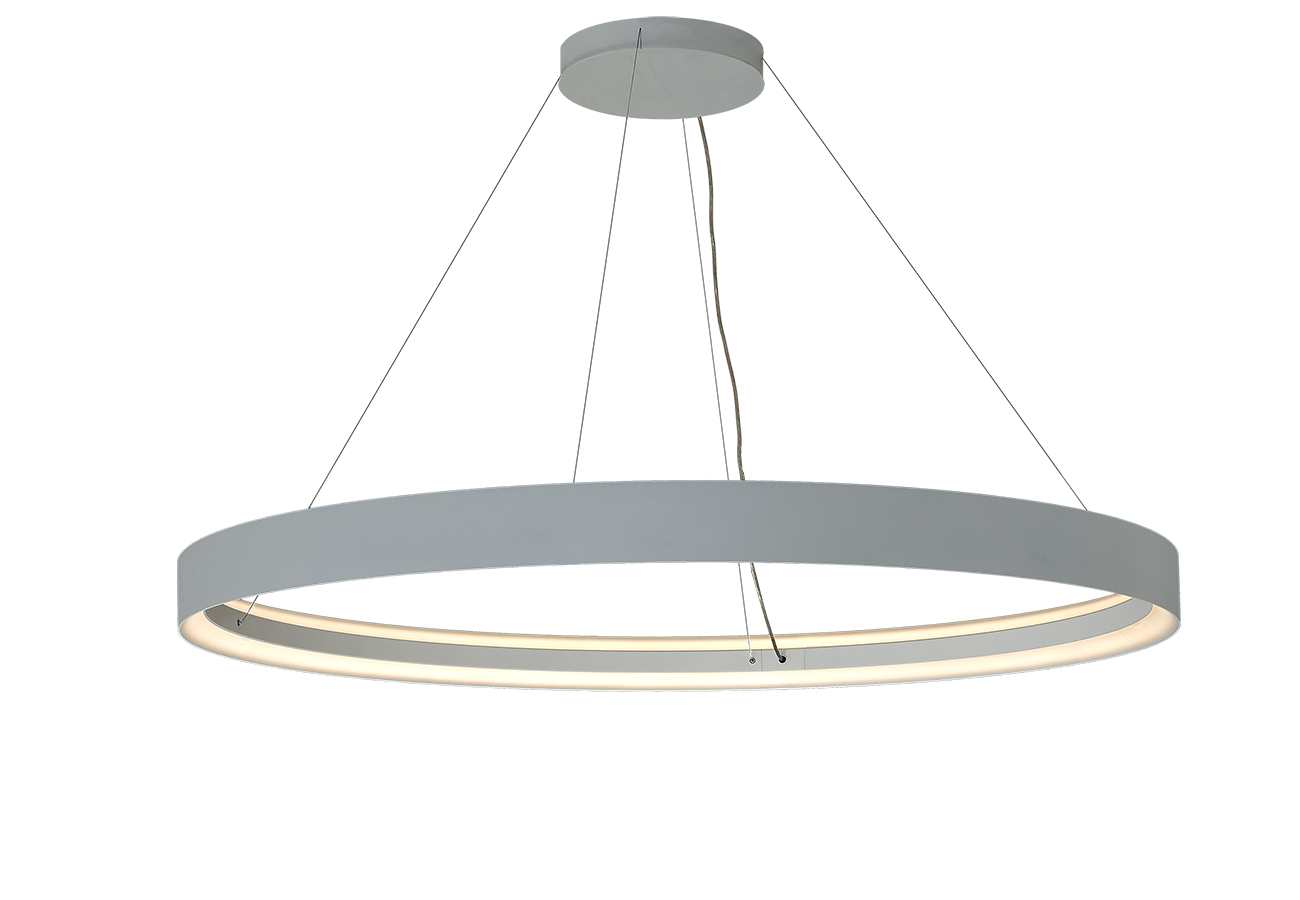 INDI LED 151W 12430lm 3000K IP20 D=1500mm, hall, rippvalgusti