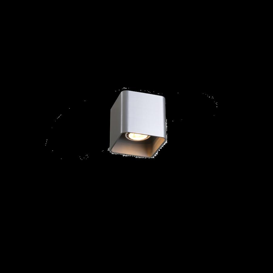 Docus Ceiling 1.0 LED 8W 3000K dim 80CRI 220-240V, Alumiiniumvärv