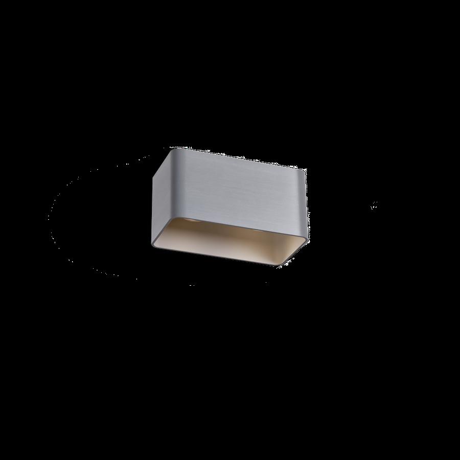 Docus Ceiling 2.0 LED 2x8W 3000K dim 80CRI 220-240V, Alumiiniumvärv
