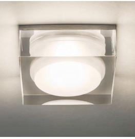 Vancouver Square 90 LED 6W 755lm 3000K IP44 süvisvalgusti, hämardatav, akrüül, liiteseadmeta