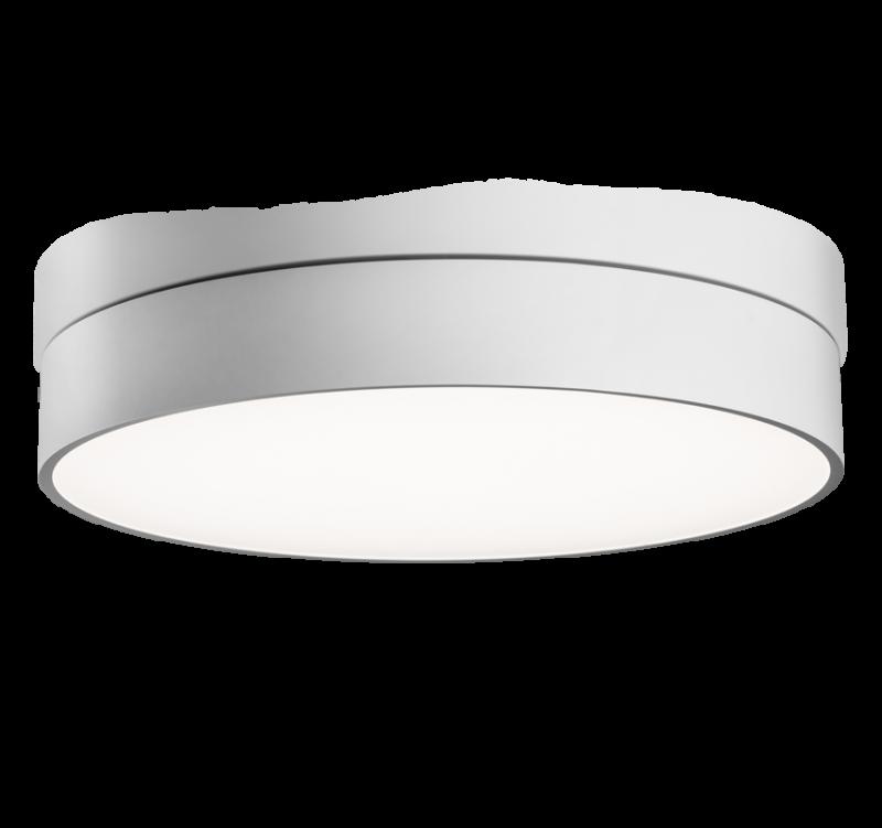 Huge LED 30,4W 4020m 3000K, IP40 ø600x87mm, alla valgusega, alumiinium, valge / opaalne hajuti
