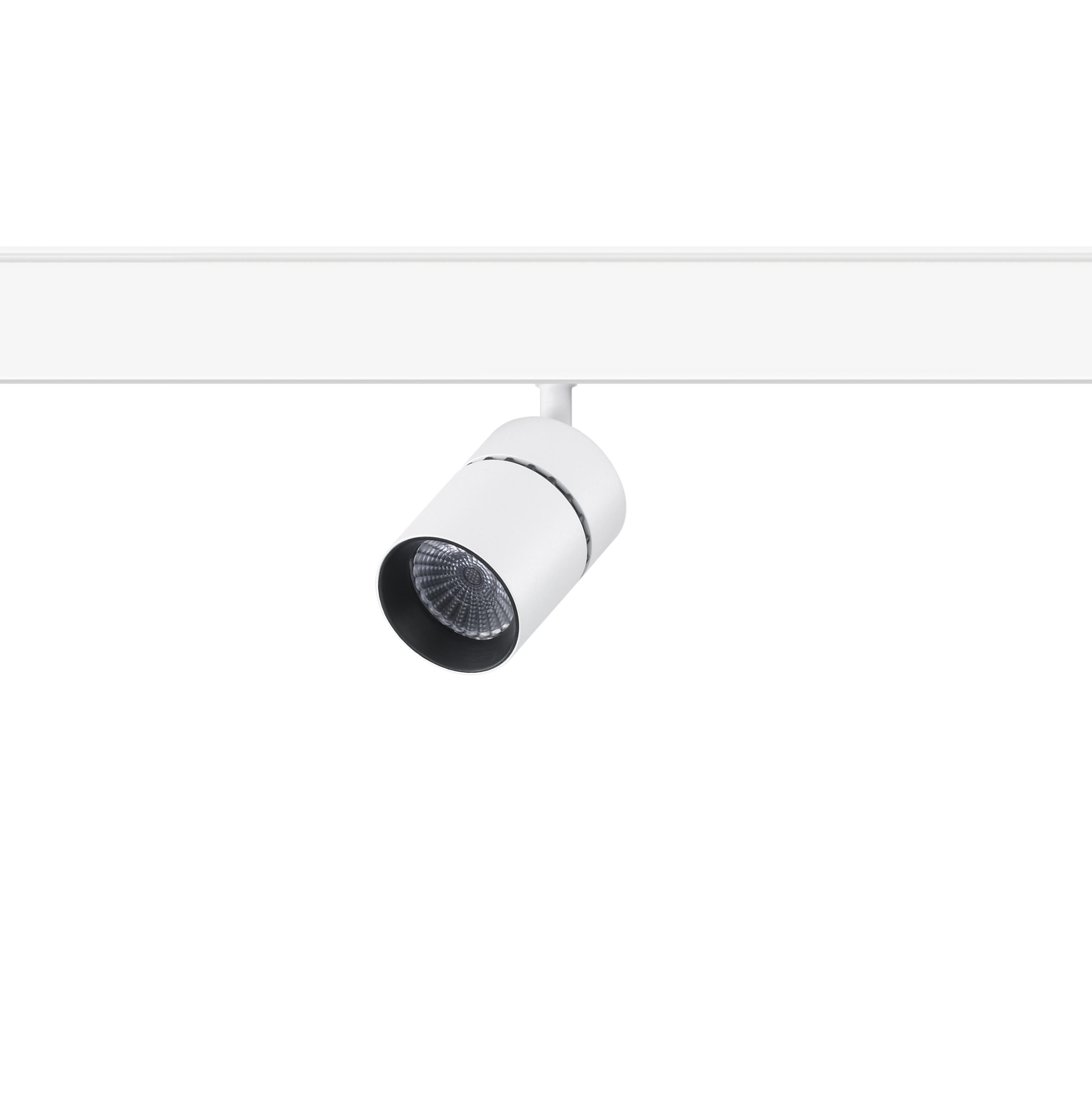 Siinivalgusti YORI EVO 48V MINI Ø35mm LED 3.5W 315lm 3000K CRI>90 22°; alumiinium, matt must