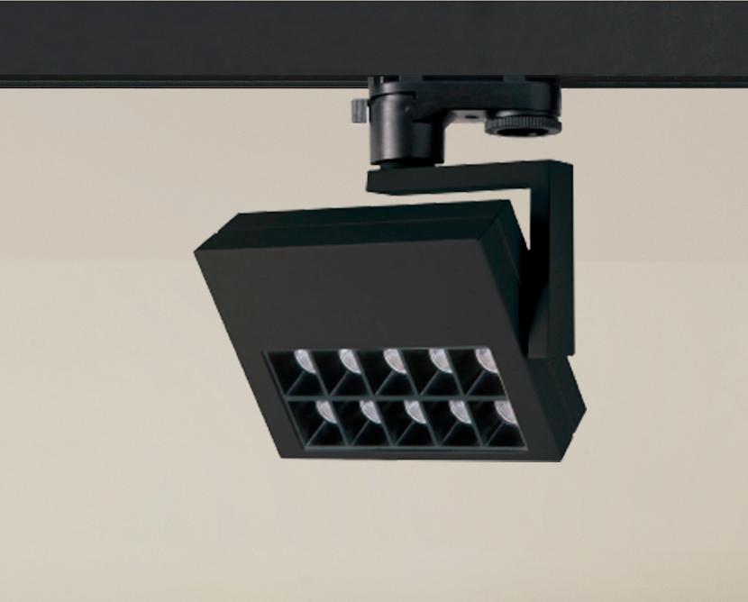 Siinivalgusti SLIDE 230V LED 15W 1300lm 3000K 60º; alumiinium, must