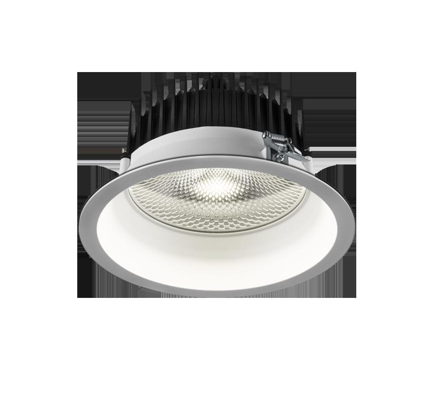 Süvisvalgusti TURE LED 24.4W 2670lm 3000K, IP54; alumiinium, valge