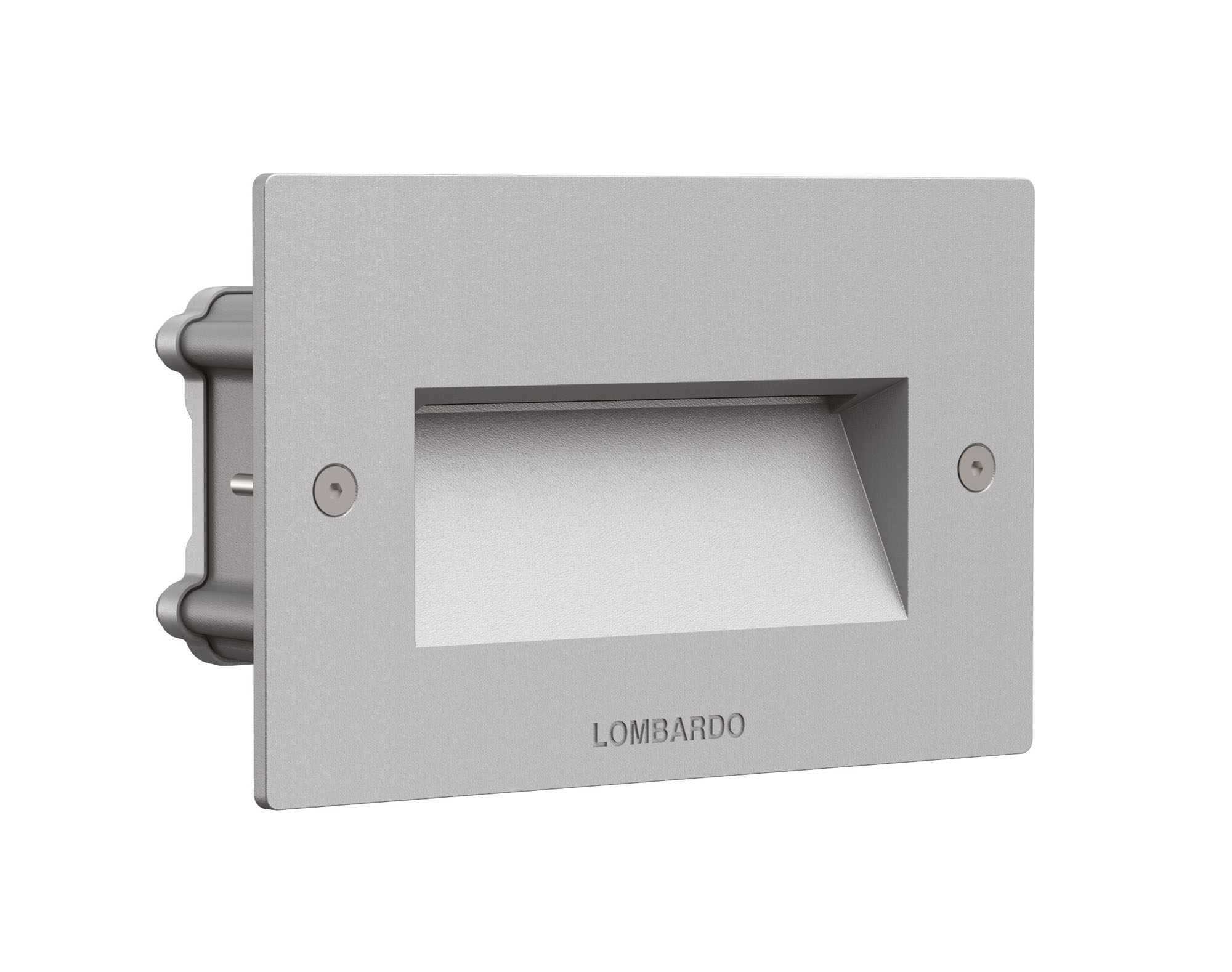 Välisvalgusti FIX 504, LED 4,5W 300lm 3000K; alumiinium, corten (pildil on halli värvi valgusti)
